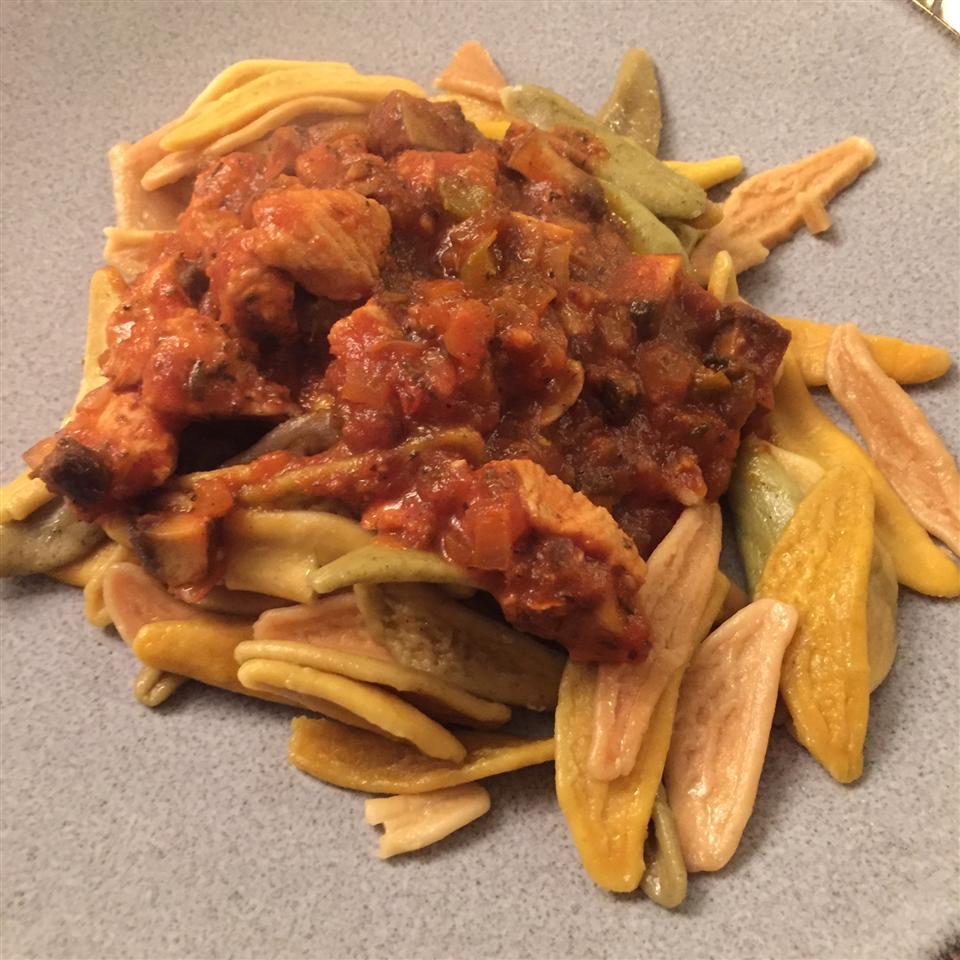 Foglie Chef Doogie's D'Autunno with Chicken and Portobella Mushrooms etceterawhatever