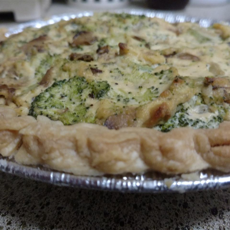Tofu Quiche with Broccoli Cb_crisco