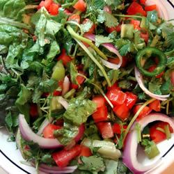 James' Fire Salad MBKRH