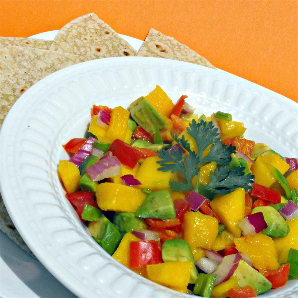 Avocado-Mango Salsa julie