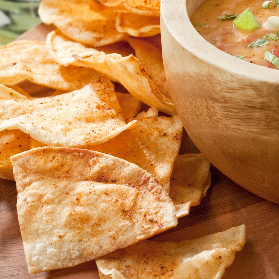 Chile-Lime Tortilla Chips EatingWell Test Kitchen