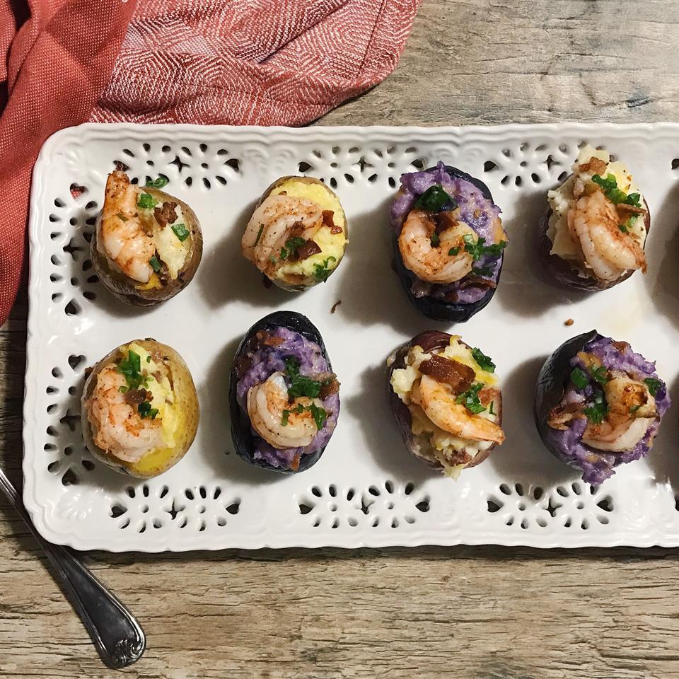 Mini Twice-Baked Potatoes Dinner Spinner TV Show