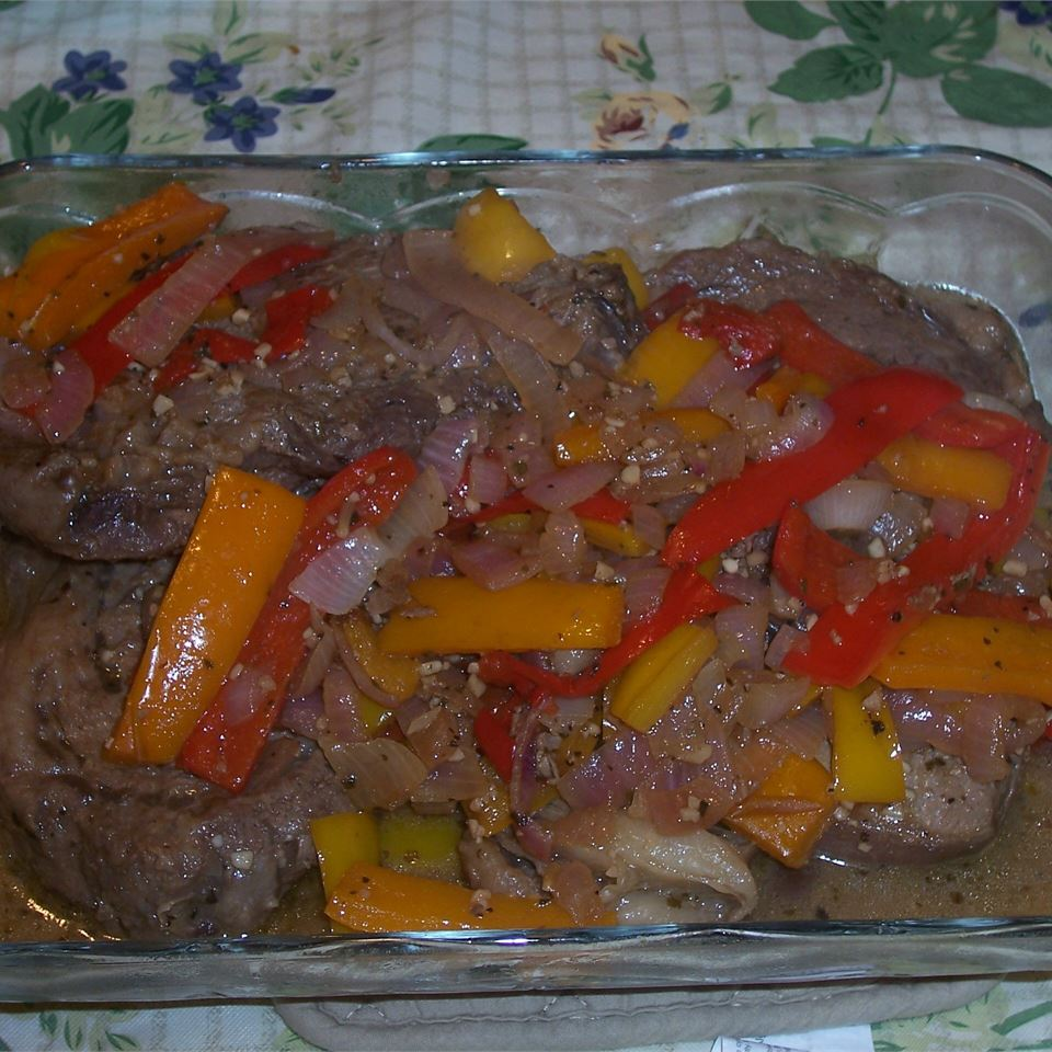 Succulent Ribeye and Peppers John J.