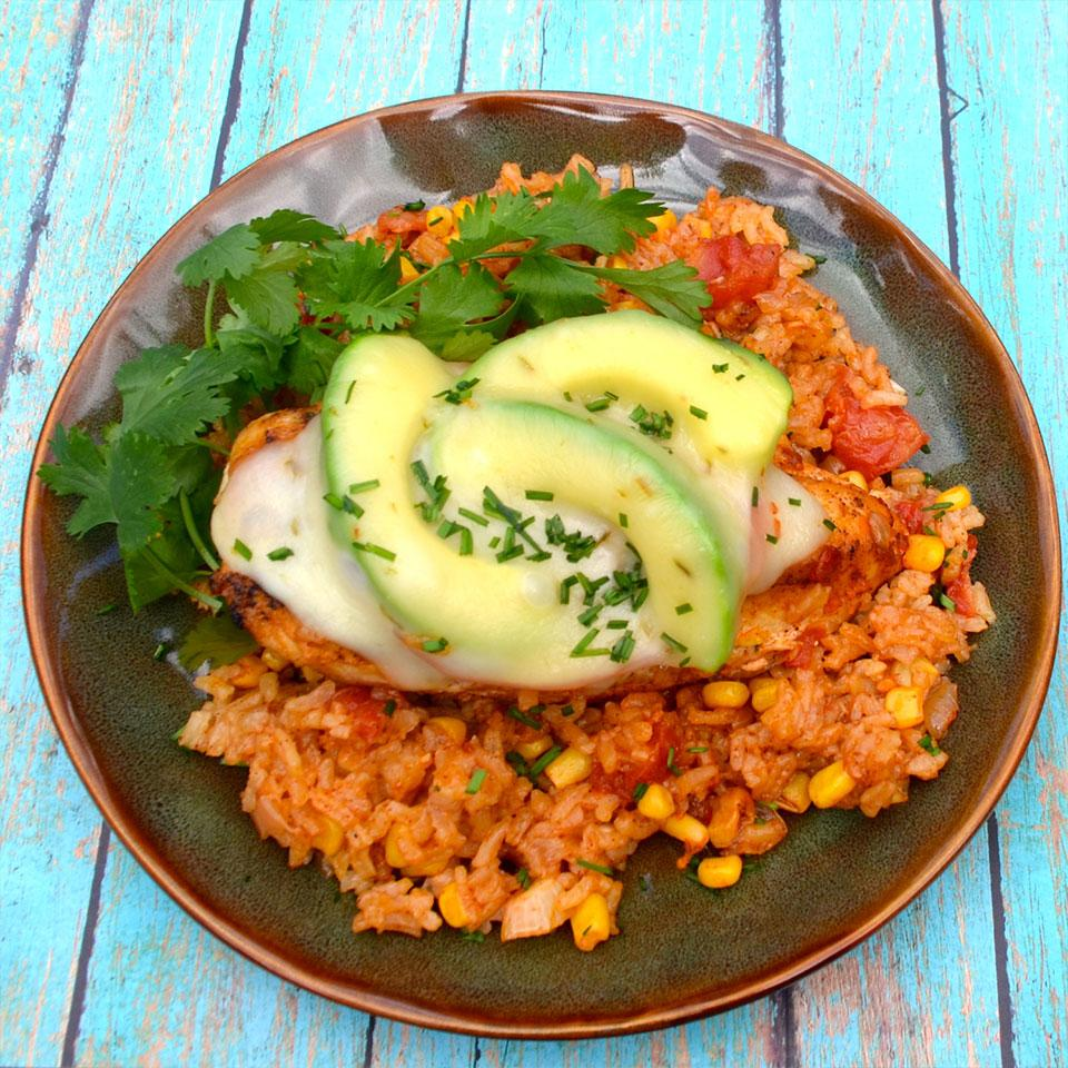 Hunt's® Monterrey Chicken and Rice Bake