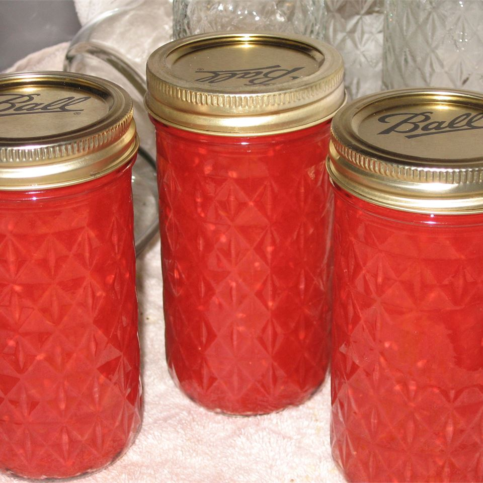 Green Tomato Raspberry Jam Queen Bee