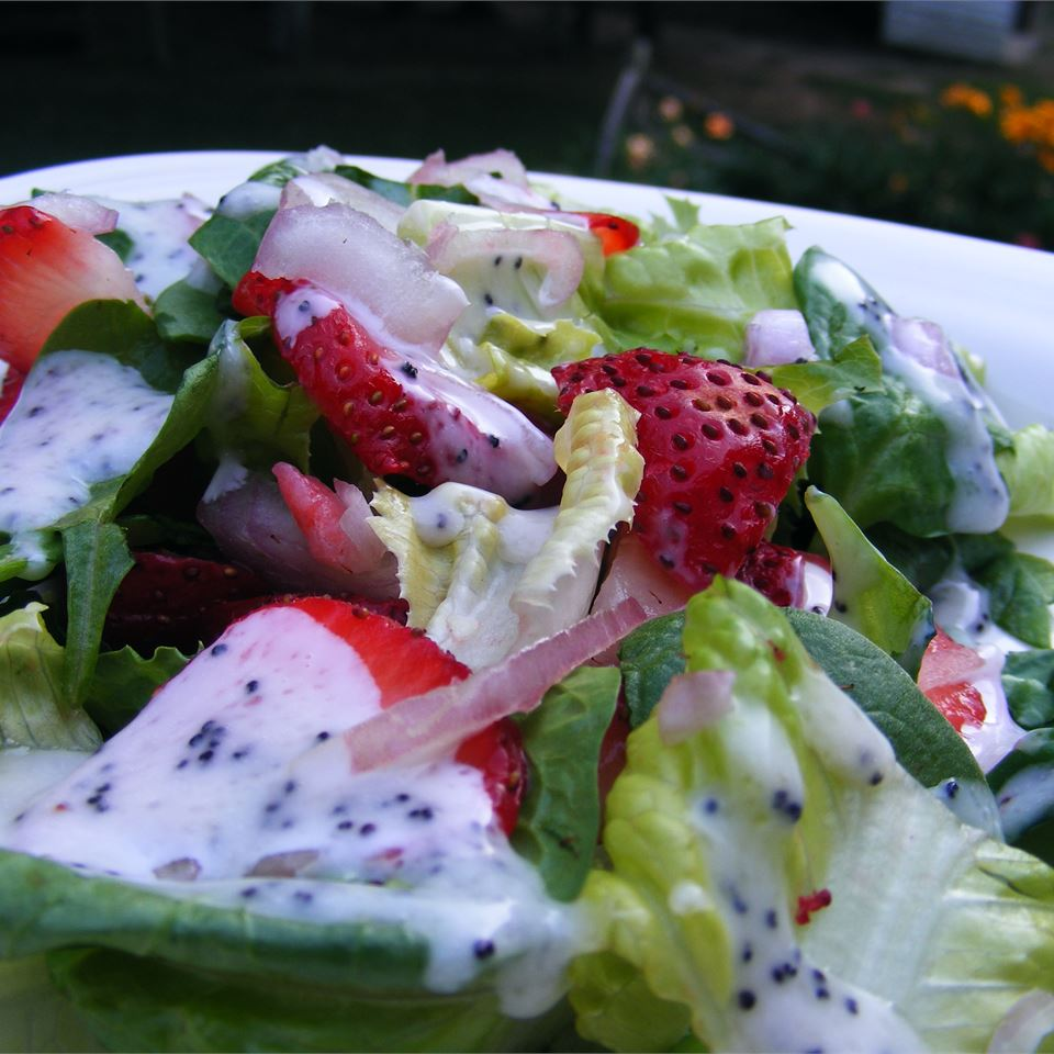 Strawberry Summer Salad The Dahl House