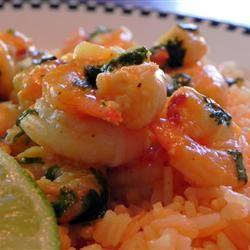 Chile-Garlic Shrimp