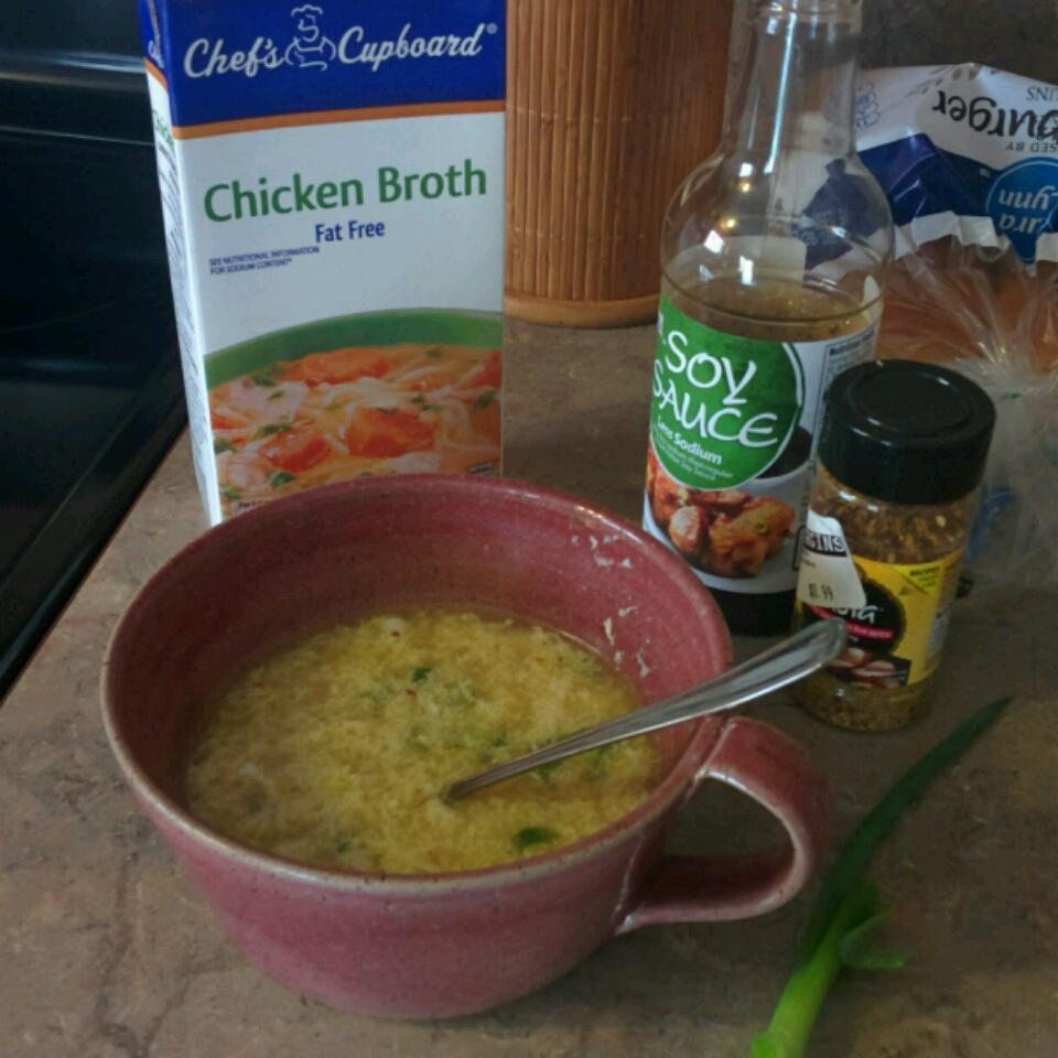 Egg Drop Soup (Better than Restaurant Quality!) Rebekah Pope