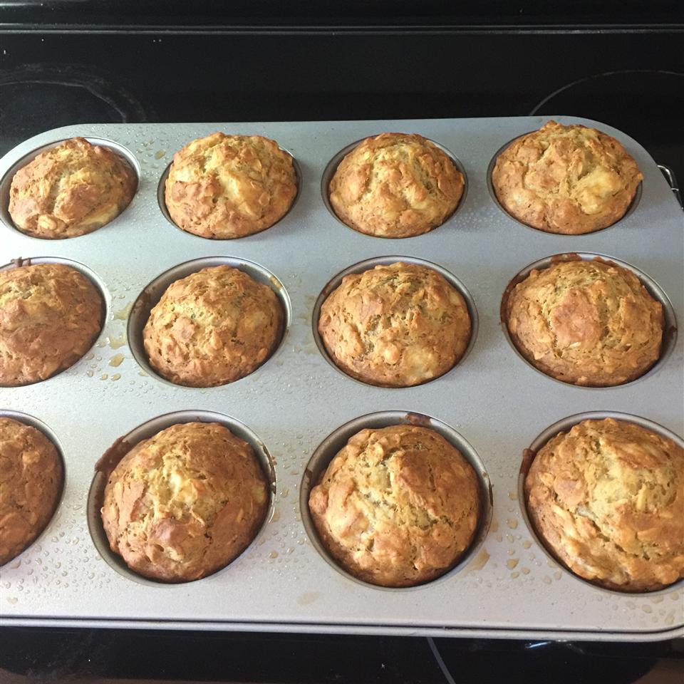 Banana Oat Muffins Arlene Babb