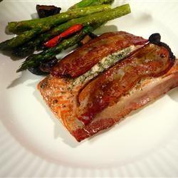 Bacon-Wrapped Salmon Emily Compson Trenbeath
