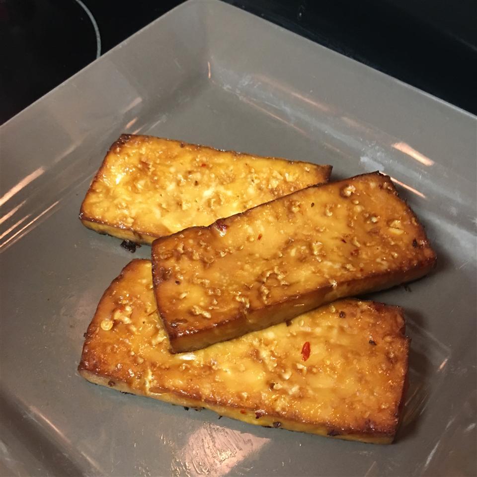 Spicy Baked Tofu Alondra Chatman