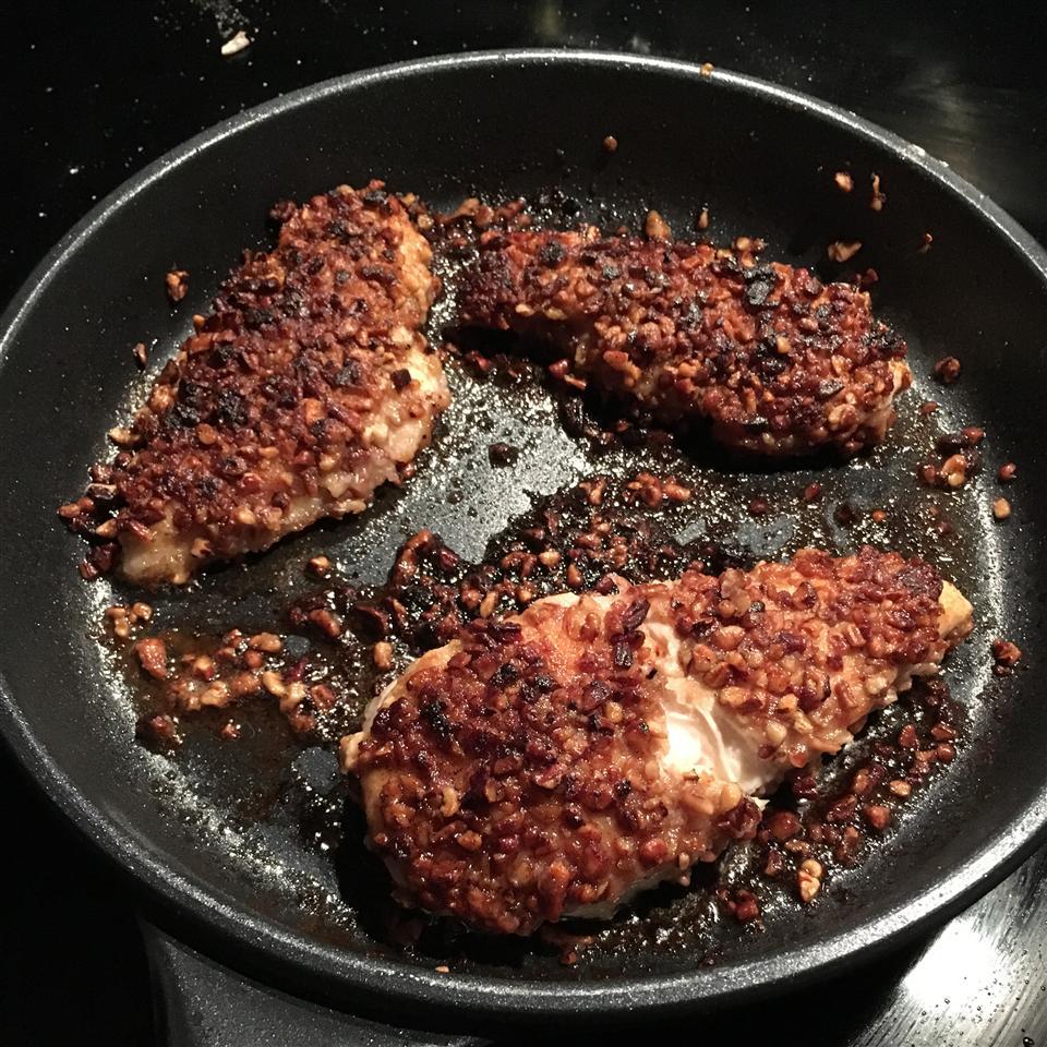Pecan Breaded Chicken Breasts Betsy Benedict