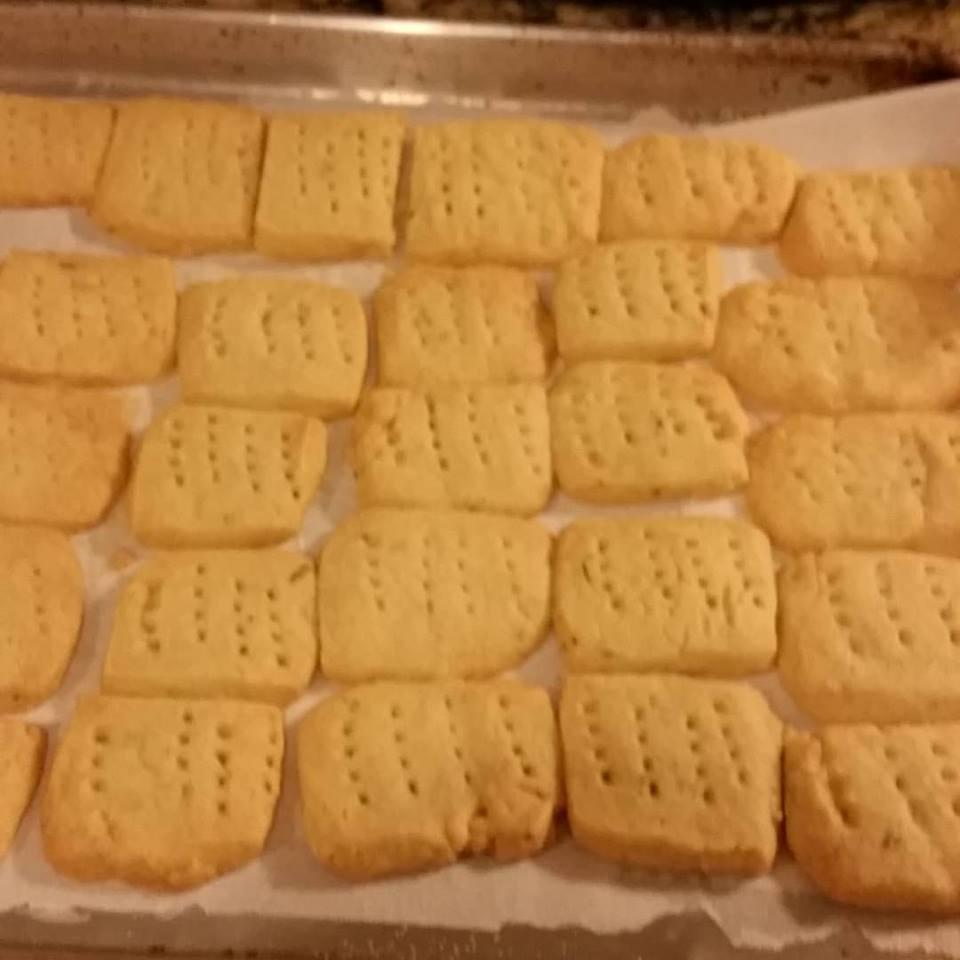 Chef John's Rosemary Shortbread Cookies Carrie Lonsdale