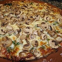 allies mushroom pizza recipe