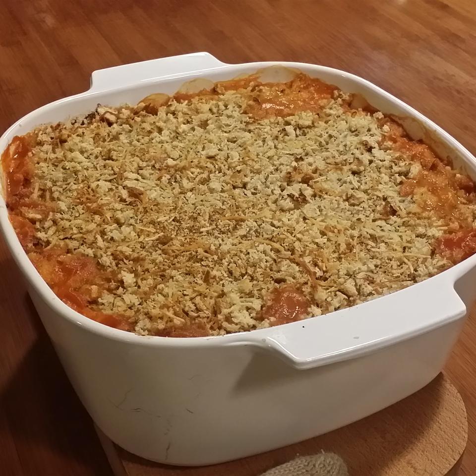 Lentil Rice and Veggie Bake
