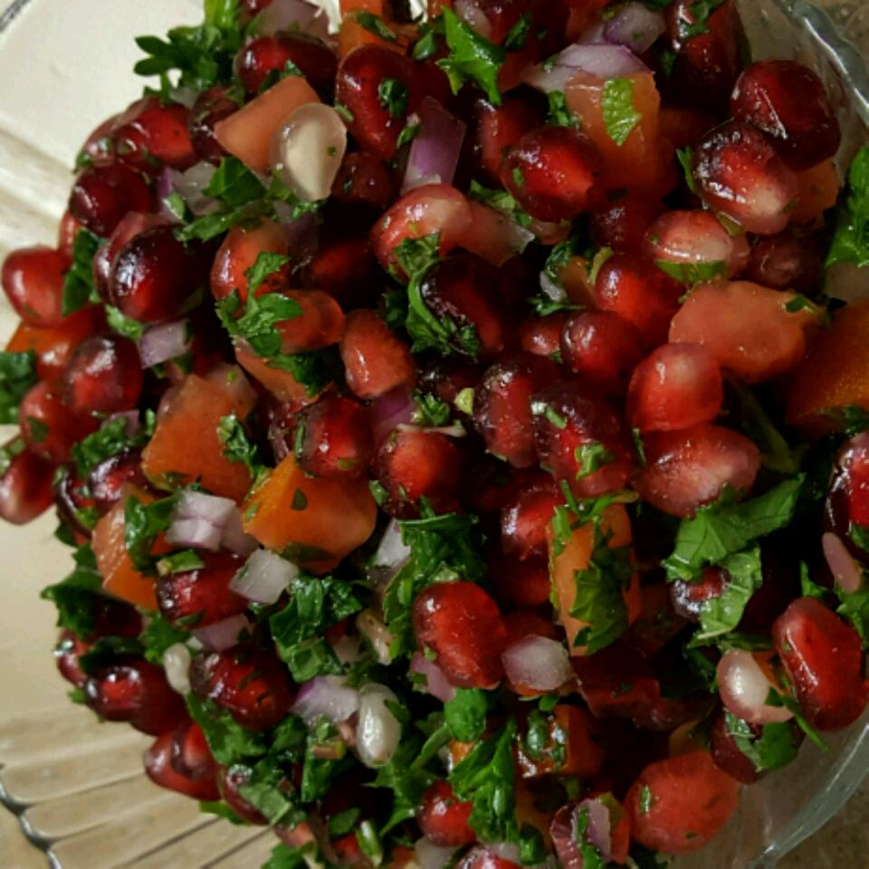 Herbed Pomegranate Salsa lmj