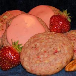Fresh Strawberry Pecan Cookies MARBALET