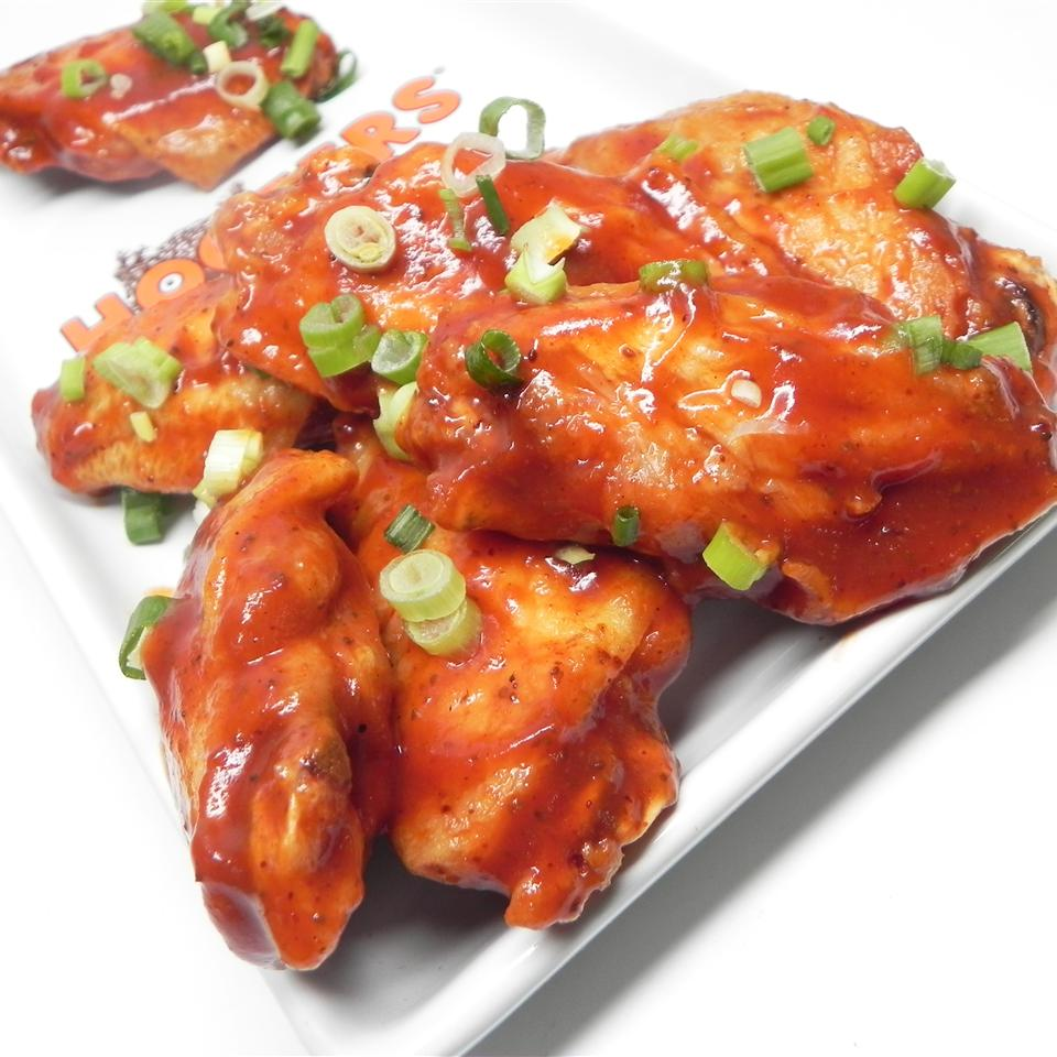 Baked BBQ Chicken Wings