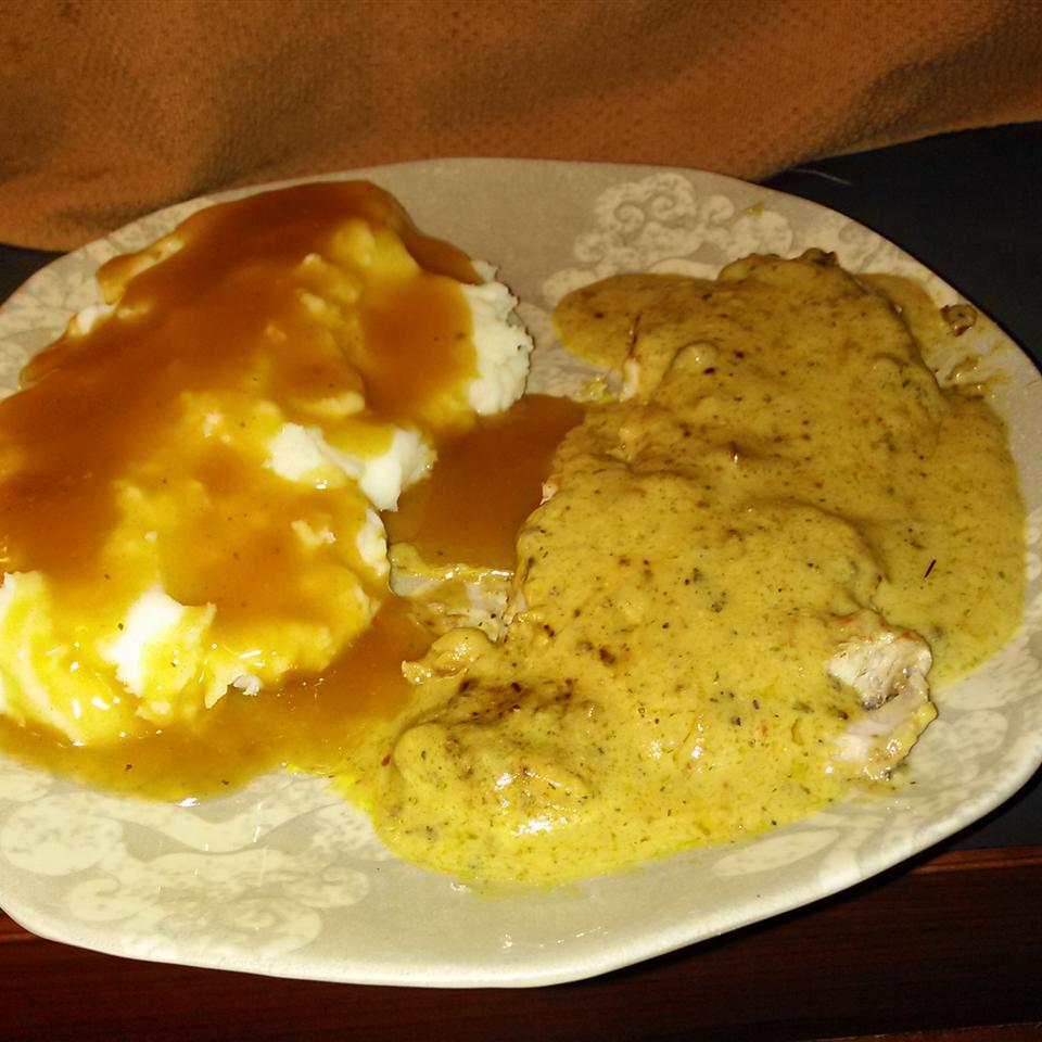 Creamy Mustard Pork Chops
