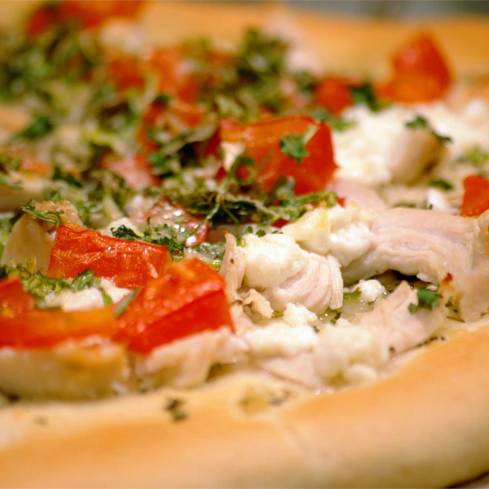 Chicken Garlic Pizza ksimone619