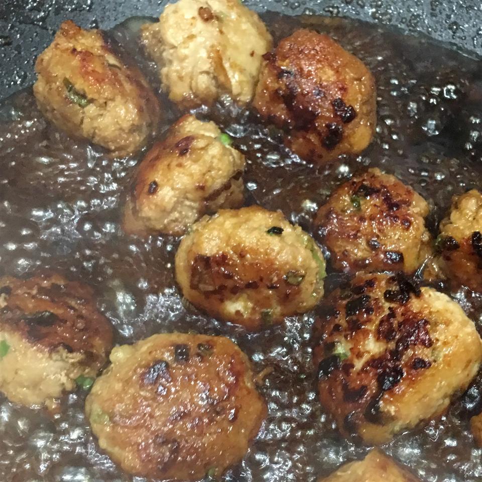 Teriyaki Chicken Meatballs EPlC