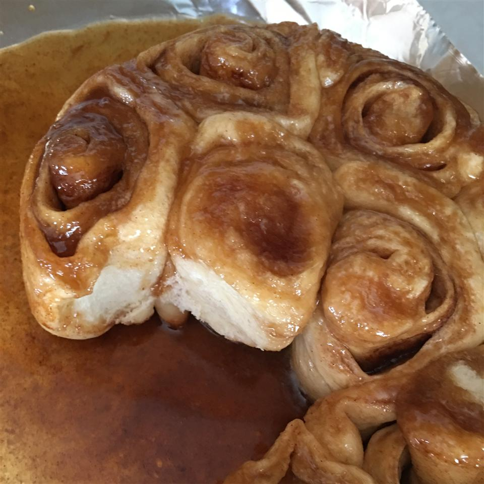 Moist Cinnamon Rolls