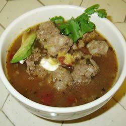 Albondigas Soup I Miss Fritzie
