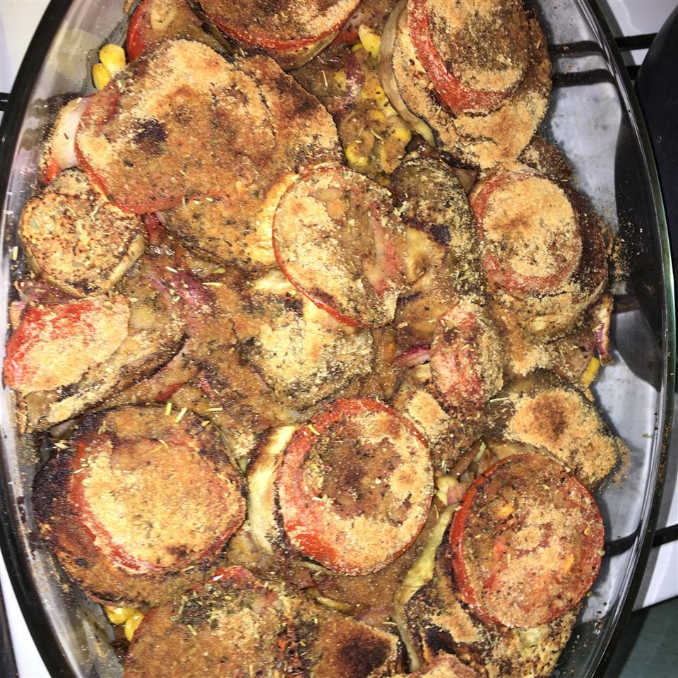 Eggplant and Tomato Casserole