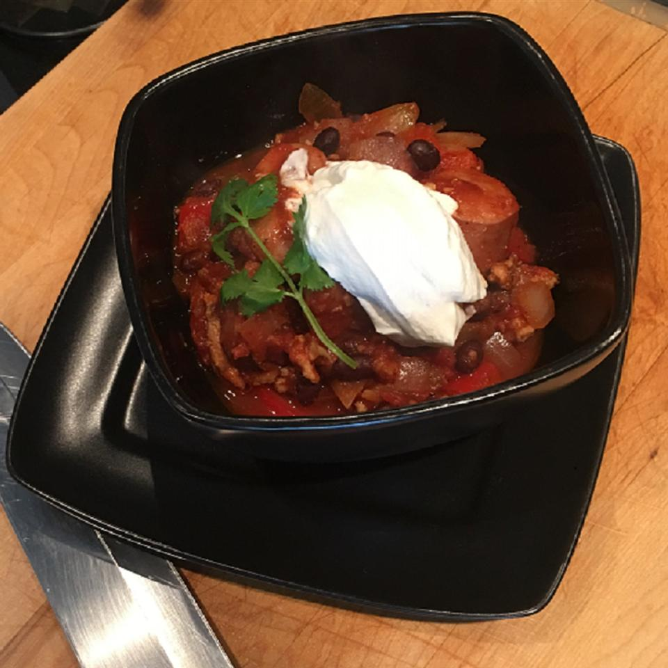 Spicy Creole Chili Clifford Hutson