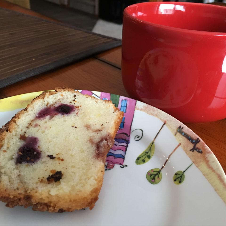 Blueberry Sour Cream Coffee Cake Cindy-Xing Yin