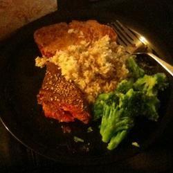 Seared Ahi Tuna Steaks shat