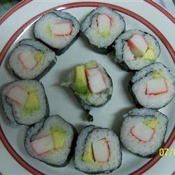 Sushi Roll atasteofcreole
