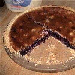 Blueberry Cream Pie piemom