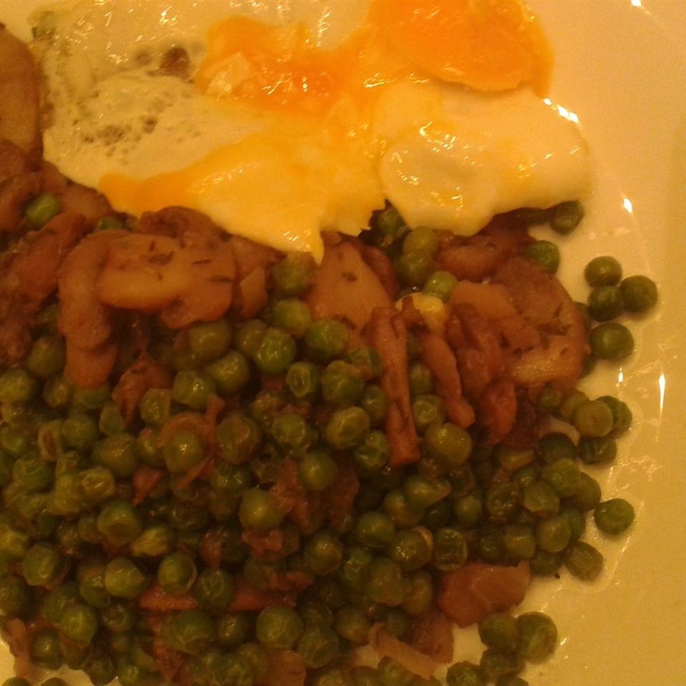 Peas with Mushrooms czuki