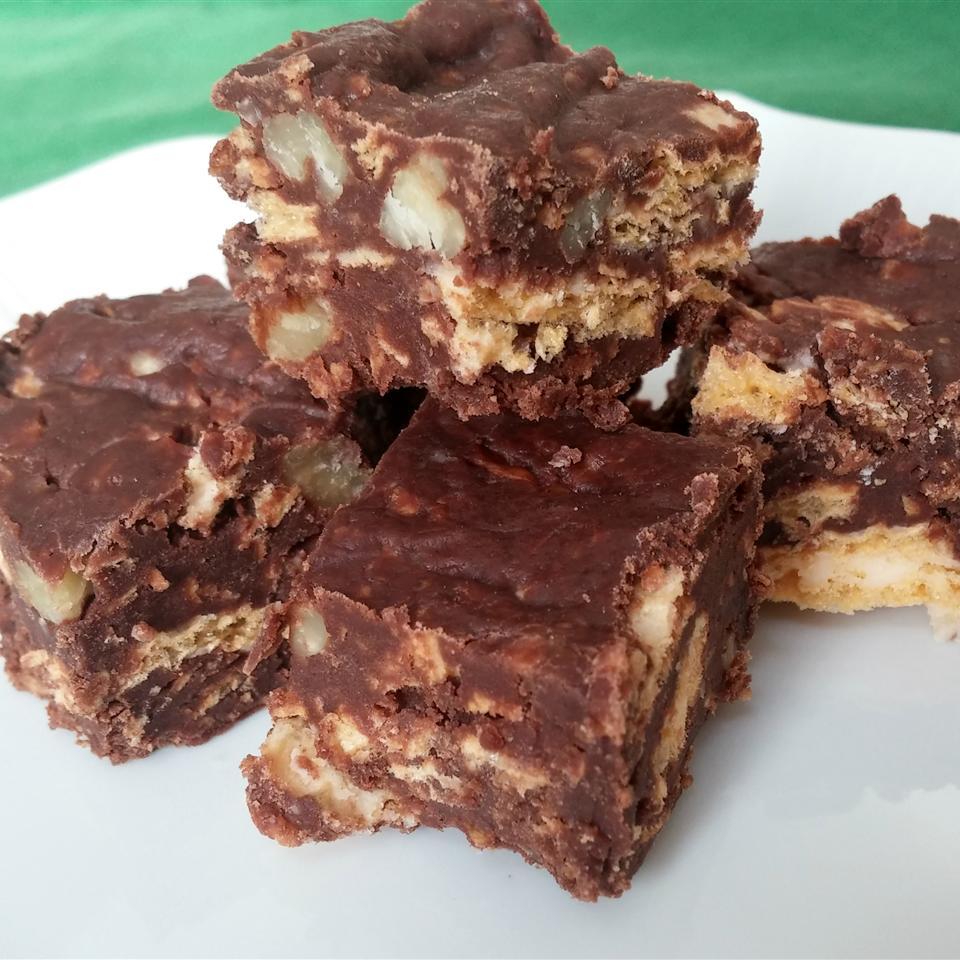 Chocolate Nut Fudge Chef Mo