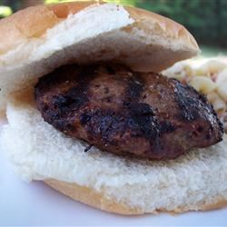 Cheddar Bacon Hamburgers pomplemousse