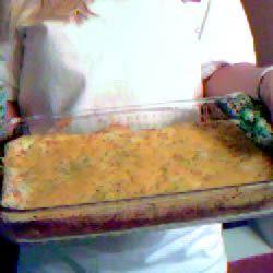 Cheesy Ham and Asparagus Bake