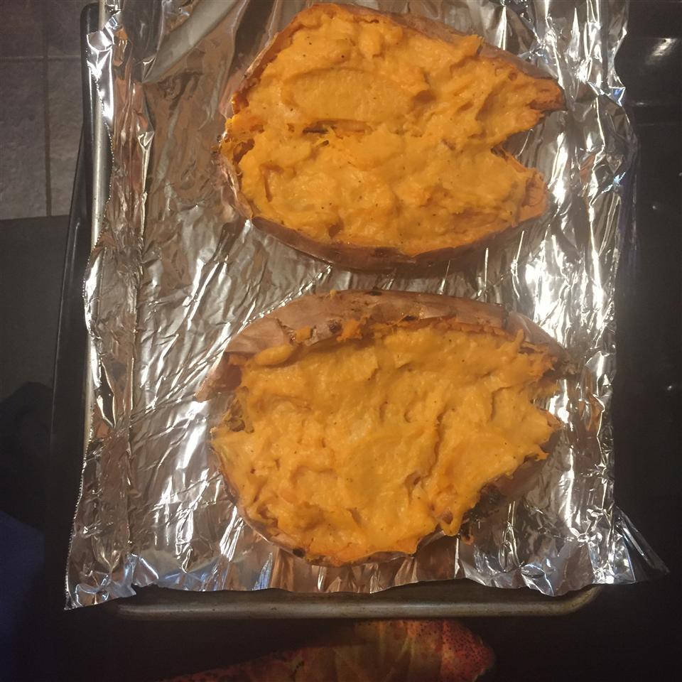 Twice Baked Sweet Potatoes Brenda Hamil Martens