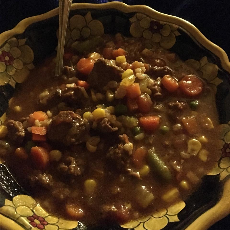 Beef Barley Vegetable Soup