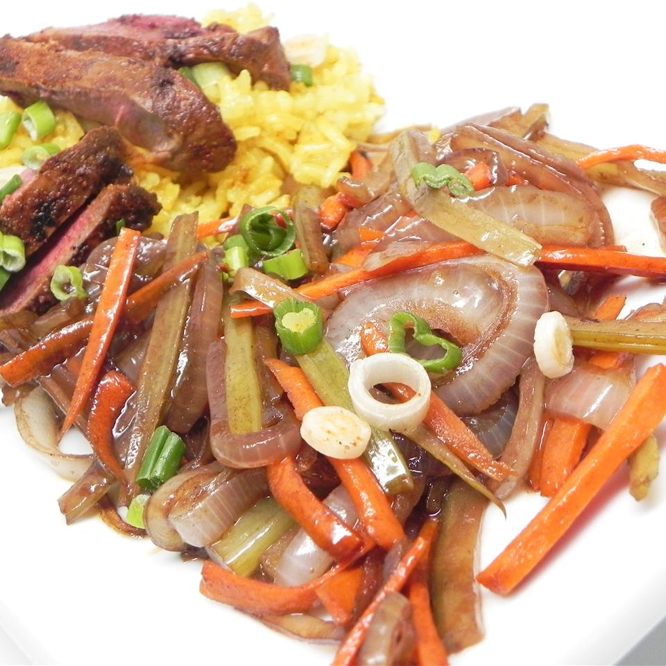 Balsamic Caramelized Leeks, Carrots, and Celery Soup Loving Nicole