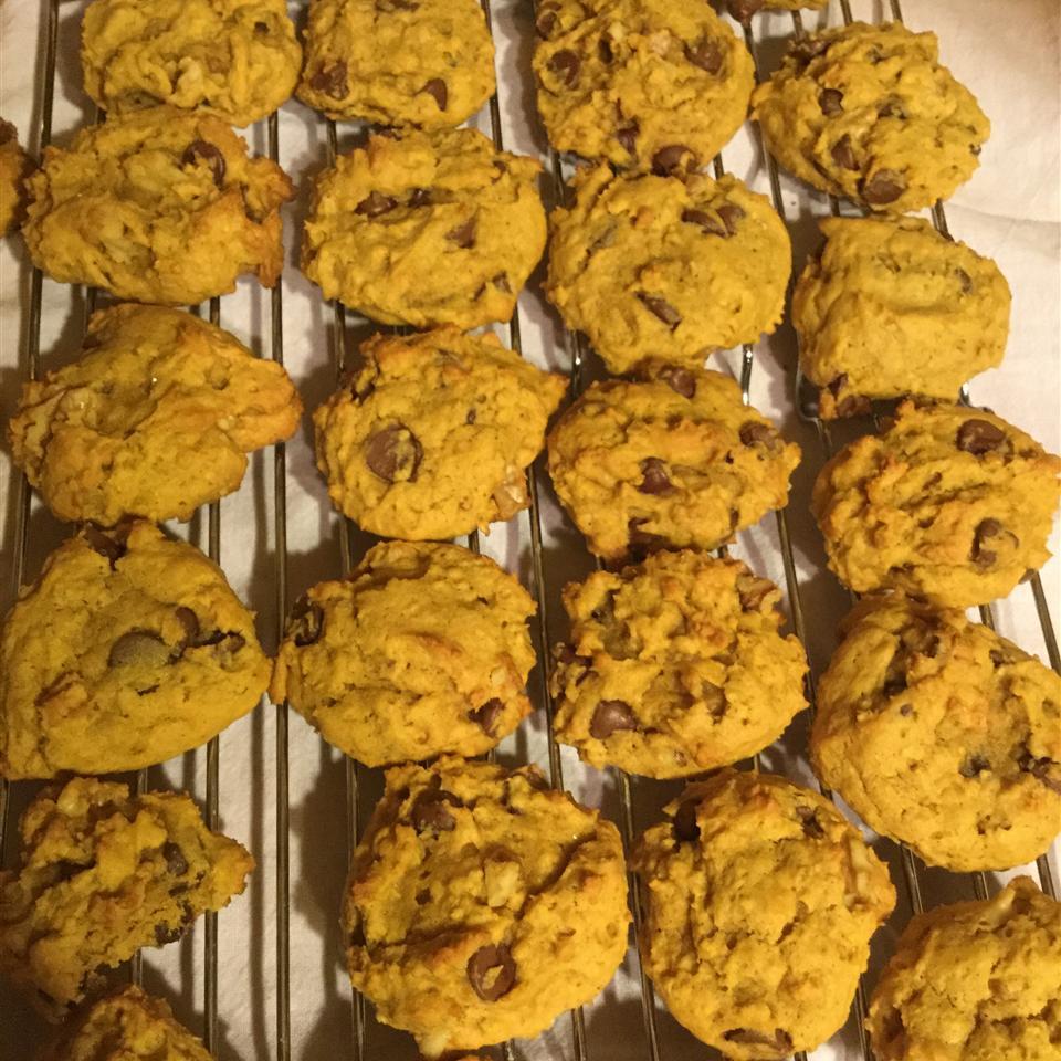 Pumpkin Oatmeal Chocolate Chip Cookies Ame Dean