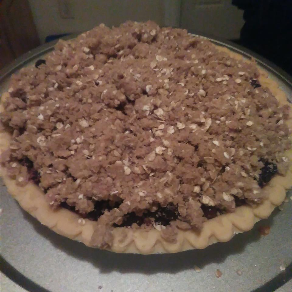 Blueberry Crumb Pie Lena Conquest