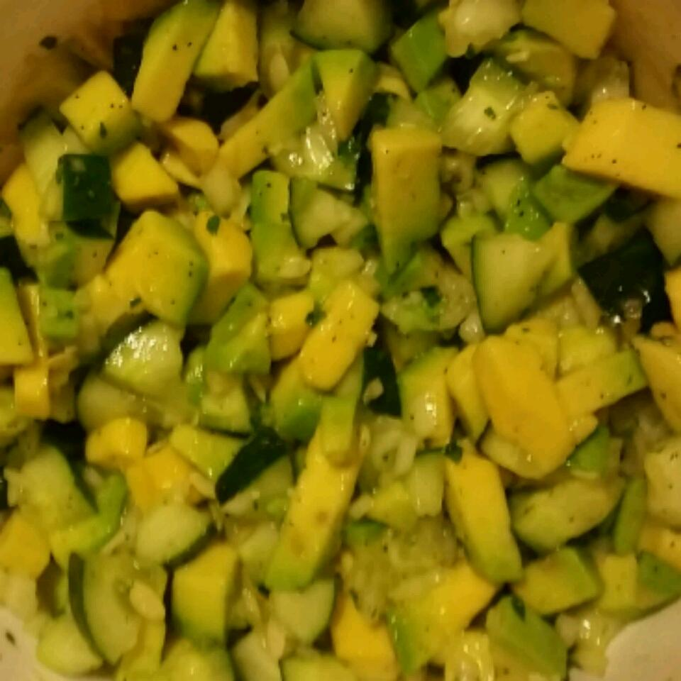 Tangy Cucumber and Avocado Salad naiomi