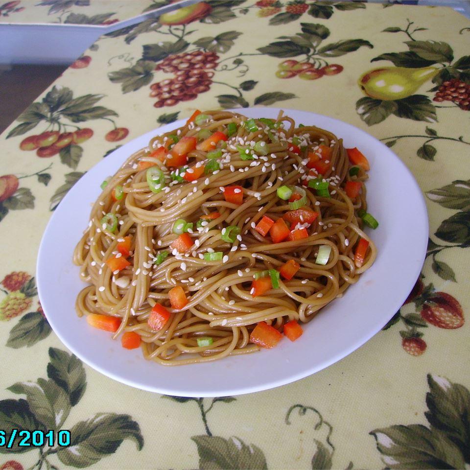 Sesame Noodle Salad Christina