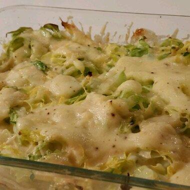 creamy creamed cabbage recipe
