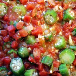 Okra with Tomatoes MBKRH