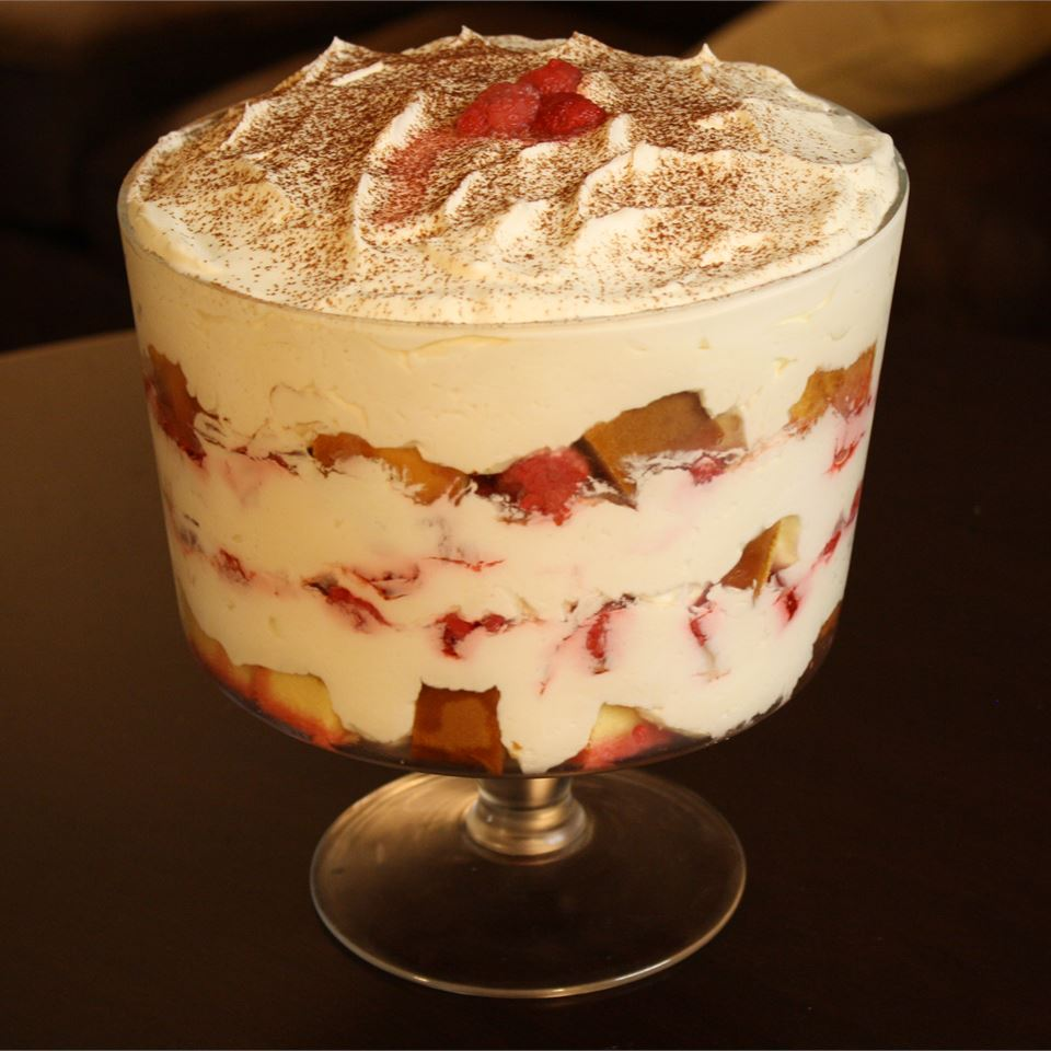 Raspberry Trifle