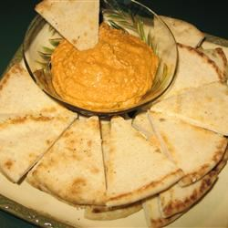 Spicy Roasted Red Pepper and Feta Hummus Kathleen