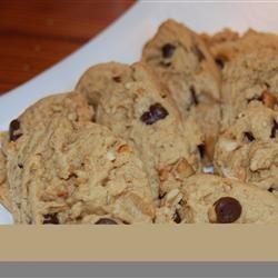 Peanut Butter Cookies with Chocolate Chunks Stephanie