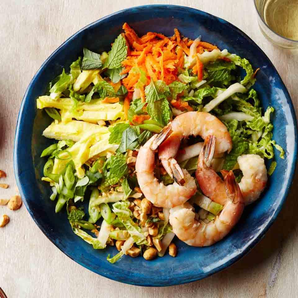 Shrimp Pad Thai Salad EatingWell Test Kitchen
